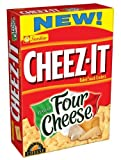 Sunshine, Cheez-It Baked Snack Crackers, Italian Four Cheese, 12.4oz Box (Pack of 4)