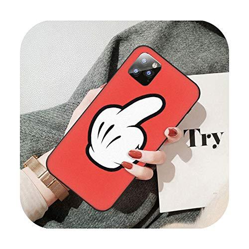 Moda dedo patrón teléfono móvil caso para Huawei P9 P10 P20 P30 P40 Pro Lite Psmart Cover-A7-para P10 Lite