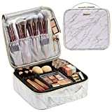 Marble Leather Makeup Case Cosmetic