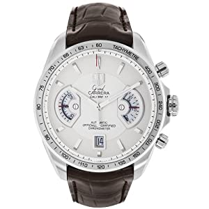 TAG Heuer Men's CAV511B.FC6231 Grand Carrera Chronograph Calibre 17 RS Watch Find Prices and Order Now!! and review