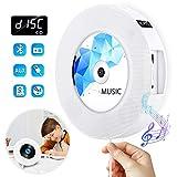 Lettore CD Portatile Gueray Montabile a Parete Altoparlante Hi-Fi Integrato Bluetooth con ...