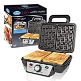 Best Waffle Makers Flips - Quest 35950 Two Slice Waffle Maker / Non-Stick Review