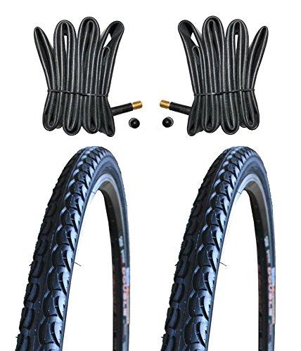 KENDA 2 x Reifen Fahrradreifen Pannensicher 28 Zoll 40-622 38C inklusive 2 x Schlauch mit Autoluftventil