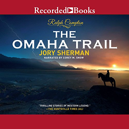 The Omaha Trail audiobook cover art