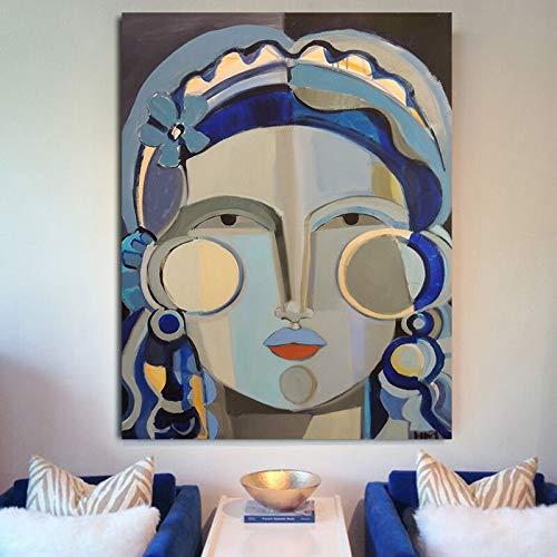 Yegnalo Pintura de la Lona Mujer impresionismo impresionismo Chica Abstracta Moderna impresión en Lienzo Cuadro de Pared en la Sala de Estar