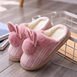 Zapatillas Casa Hombre Mujer Zapatillas De Felpa De Invierno para Mujer, Zapatos...
