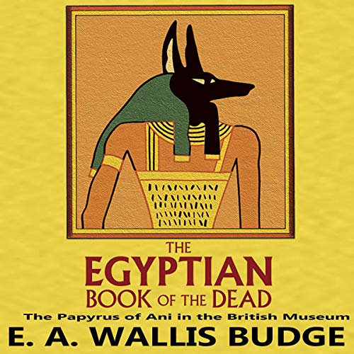 The Egyptian Book of the Dead audiobook cover art