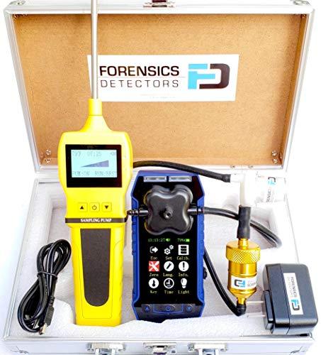 Forensics Professioneller Verbrennungsanalysator, CO, O2, COAF & EA | Wasserfalle-, Partikel- und NOX-Filter | Farbdisplay, Diagramm, Datenprotokollierung | USA NIST Kalibrierung |