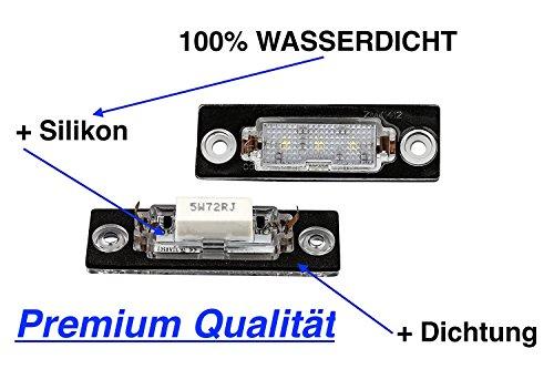 2 x TOP PREMIUM SMD LED Module + 2 x Dichtung Kennzeichenbeleuchtung