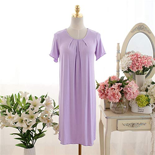Pijama La Sra camisón modal del verano nueva sección de