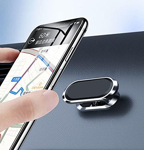 Soporte para móvil de coche, rotación de 360 °, soporte para coche y smartphone (2 unidades)