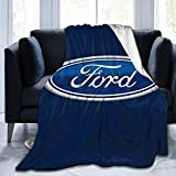 Ford Ultra-Soft Lightweight Blanket Flannel Throw Blanket60 X50
