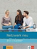 Netzwerk neu B1.1. Kurs- und Uebungsbuch mit Audios und Videos: Deutsch als Fremdsprache