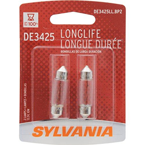 Sylvania–Bombilla DE3425larga vida Bombilla en miniatura (contiene 2bombillas)