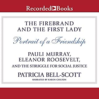 The Firebrand and the First Lady audiobook cover art