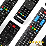 HISENSE - Mando A Distancia para Television HISENSE - Compatible 100% con LOS TELEVISORES HISENSE - Compatible con HISENSE TV