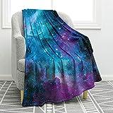 Jekeno Galaxy Space Blanket Smooth Soft Print Throw Blanket for Gift Women Girls Friend 50'x60'