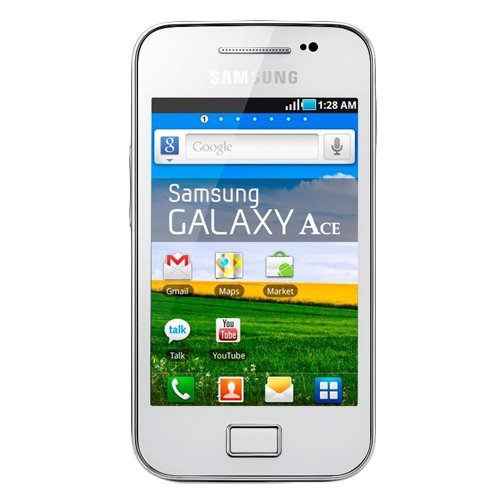 Samsung GT-S7500 Galaxy Ace Plus Unlocked GSM Cell Phone Andriod International Version/Warranty White