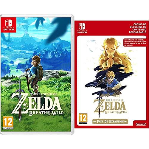 Nintendo The Legend Of Zelda: Breath Of The Wild Edición Estándar + Zelda: Breath of the Wild Expansion Pass DLC Código de descarga