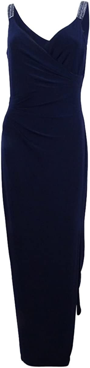 Lauren by Ralph Lauren Women's Beaded Jersey Gown