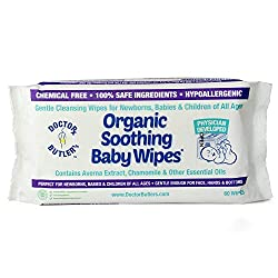 Dr. Butler's - Organic, Chemical-Free Wet Wipes