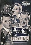 Menschen im Hotel - Heinz Rühmann - IFB Filmprogramm 4929