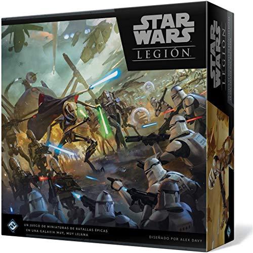 Fantasy Flight Games- Star Wars Legión: Las Guerras Clon, Color (SWL44ES)