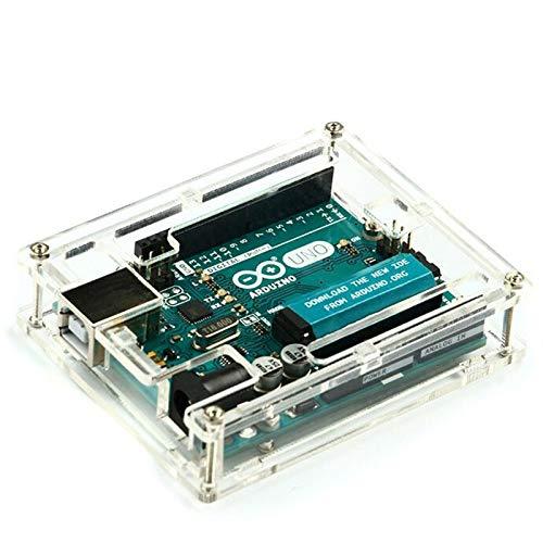 Mechatronics-Pro Acrylic Case for Arduino UNO Housing Kit Transparent Transparent Box