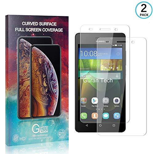 Schutzfolie für Honor 4C, 2 Stücke Huawei Honor 4C Folie, Klar HD Weich Folie [TPU-Film] [Kompatibel mit Hülle] [Blasenfreie] Displayschutzfolie