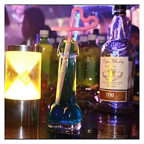 QJTZ Creative Glass Juice Hup Bar Human Organ Coptail Copa Copa Multifuncional Diversión Romántica Taza de Jugo Personalizado 0418