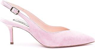 Luxury Fashion   Liu Jo Women SXX543P002101597 Pink Suede Heels   Spring-summer 20