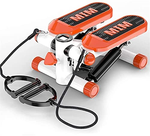 BJH Mini Pantalla LCD Paso a Paso Escaleras Dispositivo de Entrenamiento Entrenador en casa Entrenamiento físico Sistema de absorción de Impactos con cinturón de Entrenamiento
