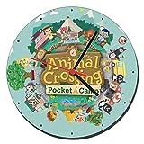 MasTazas Animal Crossing Pocket Camp Reloj de Pared Wall Clock 20cm