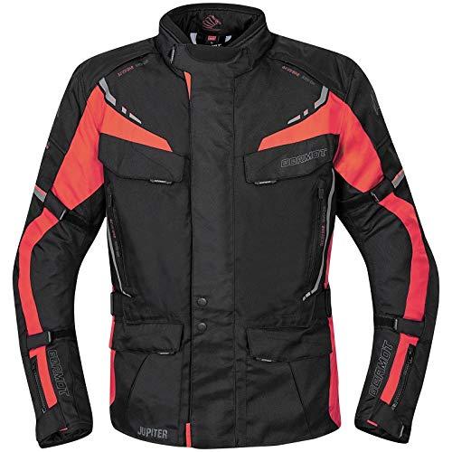 Germot Jupiter Motorrad Textiljacke Schwarz/Rot XL