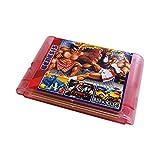 Super Games 196 in 1 for Sega Genesis - Mega Drive 16 Bit Multi Cartridge (Transparent Pink)