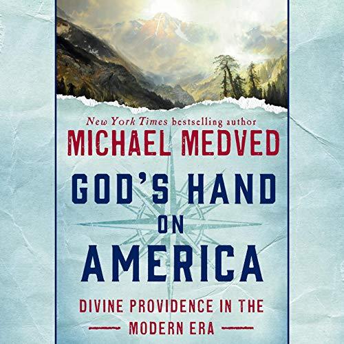 God's Hand on America audiobook cover art