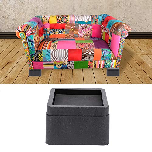 SunshineFace Betterhöhung, Erhöhung in Höhen, 5,1 cm, langlebig, stapelbar, für Sofa, Couch, Tisch, 4 Stück