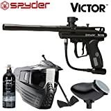 Spyder Victor Package .68Cal Paintball Kit Includes Sentry Goggle,...
