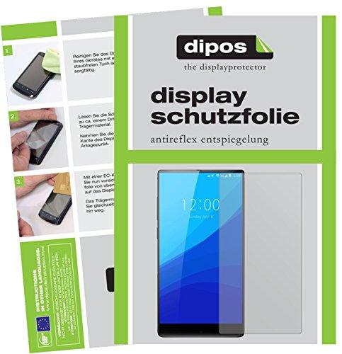 dipos I 6X Schutzfolie matt kompatibel mit Umidigi Crystal Folie Bildschirmschutzfolie