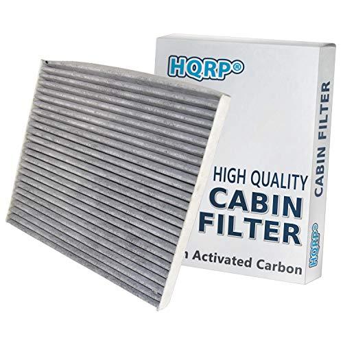 HQRP Carbon A/C Cabin Air Filter compatible with Hyundai Santa Fe 2012-2018; Santa Fe Sport 2013-2018; Santa Fe XL 2013-2017