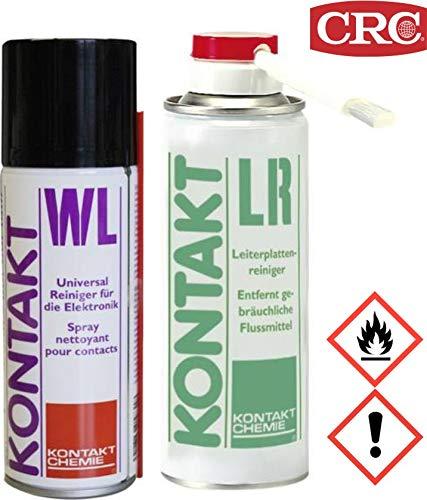 Leiterplattenreiniger CRC Kontakt Chemie KONTAKT LR / KONTAKT WL 1 Set