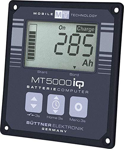 Büttner Batterie-Computer MT 5000iQ 200A-Shunt Anzeige Fahrzeug Strom Spannung Temperatur schwarz