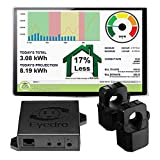 Eyedro Home Energy Monitor - Track, React, Save Money - View Your Energy Usage in a Variety of Ways via My.Eyedro.com (No Fee) - Understand Your Electricity Costs in Real Time - EHEM1-LV (Ethernet)