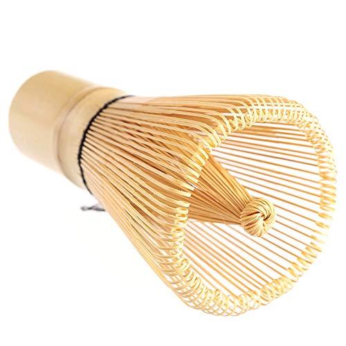 Hieefi Matcha Besen Pulver Whisk Japanische Matcha Whisk Bambus Chasen Grüner Tee Whisk Tragbares Werkzeug Zur Herstellung Von Matcha Pulver