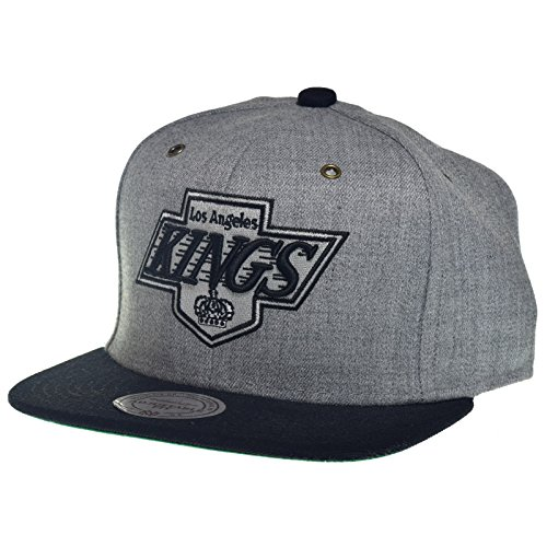 Mitchell & Ness - Casquette Strapback Homme Miami Heat Vintage Heather Grey Wool