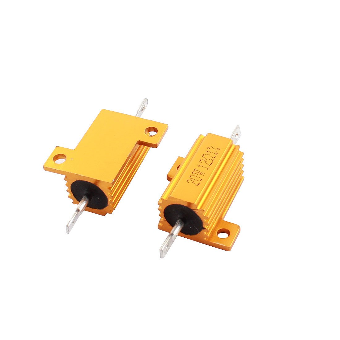 Uxcell Miami Mall a14090600ux0145 Clad Max 79% OFF Wire Wound x Power 2 Resistors 20W