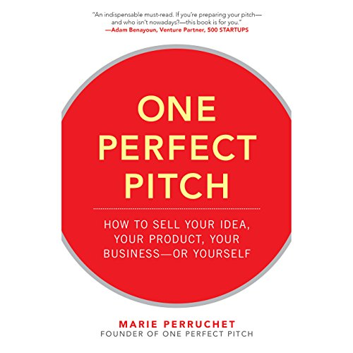 One Perfect Pitch audiobook cover art