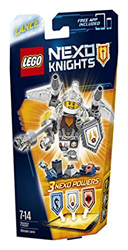 Lego Nexo Knights 70337 - Ultimate Lance, 7-14 Anni