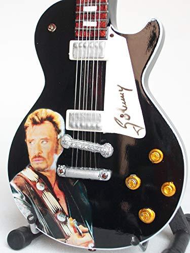 Guitare Miniature Hommage Johnny Hallyday