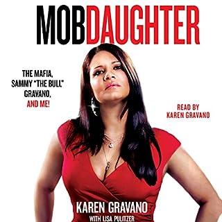 Mob Daughter audiobook cover art